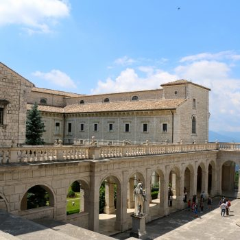 The Abbey of Monte Cassino Italy, Past & Present
