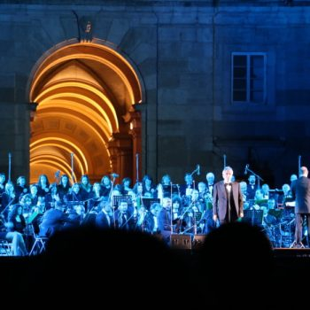 Andrea Bocelli Concert at the Caserta Palace, Italy
