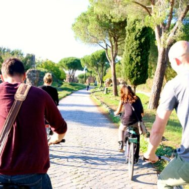 Biking the Appian Way (Rome's Oldest Road) With Friends!