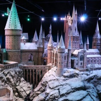Hogwarts in the Snow, Harry Potter World London