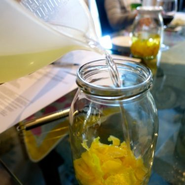 How to Make Limoncello, A Luncheon