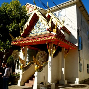 Buddhist Temple Brunch, Berkeley California