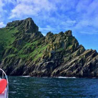 Boating out to the Skellig Islands, Ireland